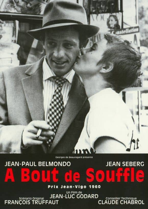 recenzie film Breathless A bout de souffle Godard