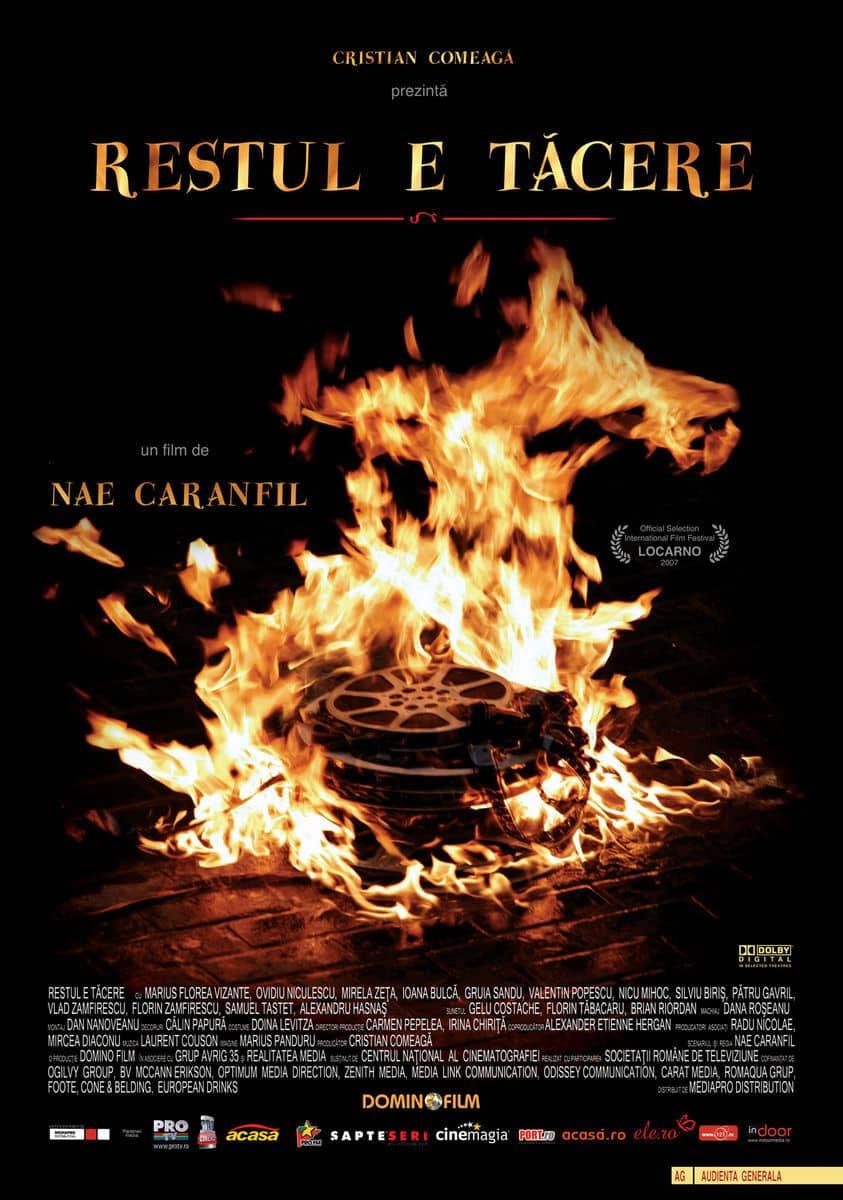 recenzie de film romanesc Restul e tacere, Nae Caranfil