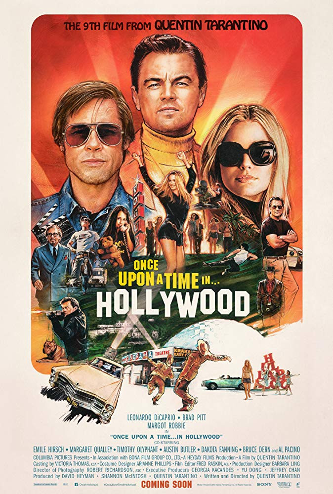 Recenzie de film Once Upon a Time... in Hollywood (2019)