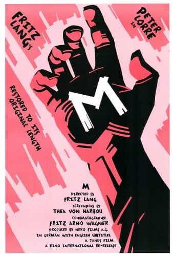 Recenzie film M Eine Stadt sucht einen Mörder Fritz Lang