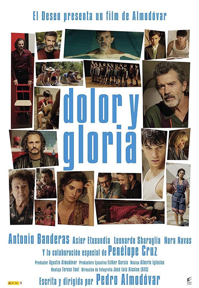 recenzie de film Pain and Glory, Pedro Almodovar