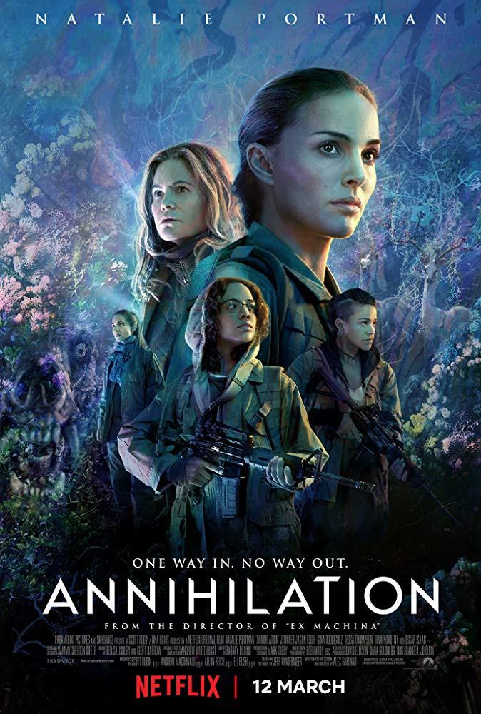 recenzie film Annihilation