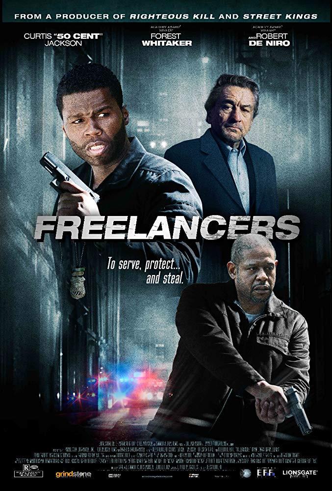 recenzie film Freelancers, Robert de Niro, 50 Cent