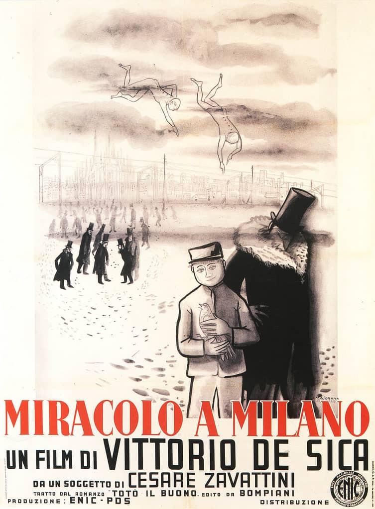 recenzie de film Miracolo a Milano, Vittorio De Sica