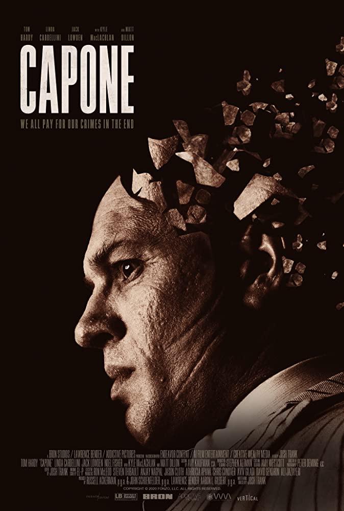 recenzie film Capone, Tom Hardy