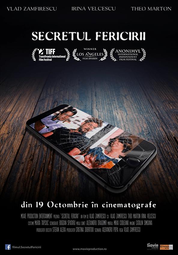 recenzie film romanesc Secretul fericirii, Vlad Zamfirescu