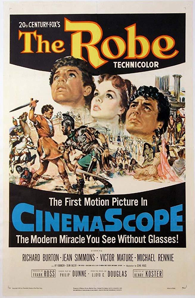 recenzie film The Robe Richard Burton