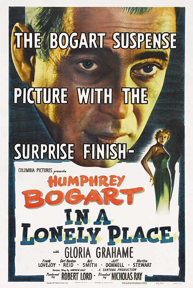 recenzie film In a Lonely Place Humphrey Bogart