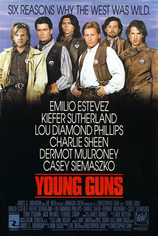 recenzie film Young Guns western