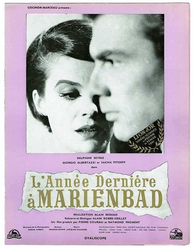 recenzie de film Anul trecut, la Marienbad, Alain Resnais