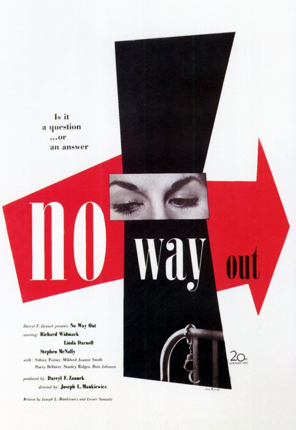 recenzie film No Way Out Sidney Poitier