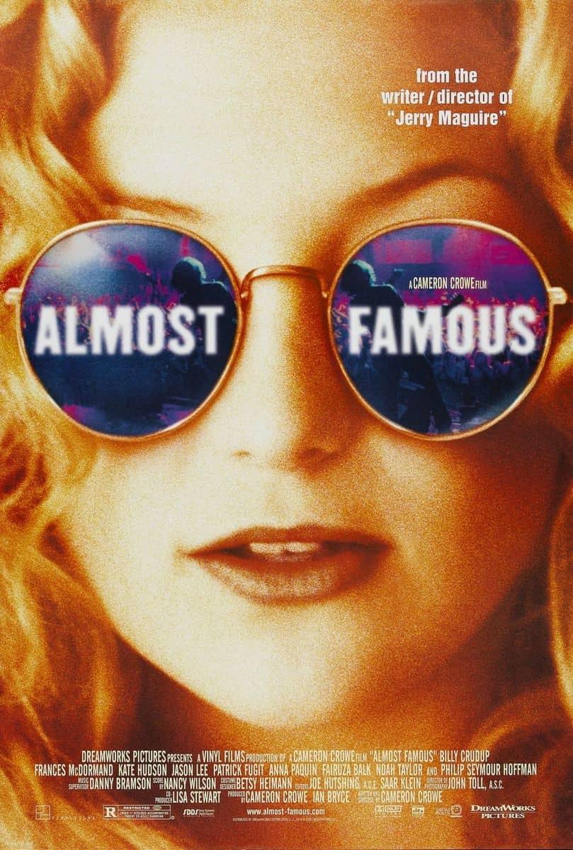 recenzie de film Almost Famous, Cameron Crowe