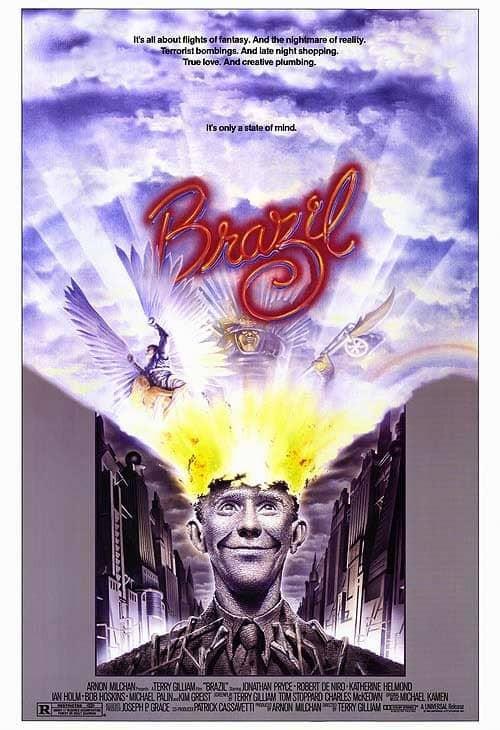 recenzie film Brazil, Jonathan Pryce, Robert De Niro
