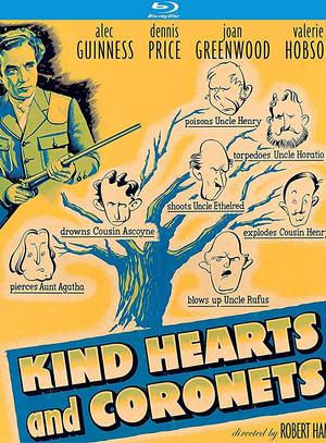 Kind Hearts and Coronets (Robert Hamer, 1949)