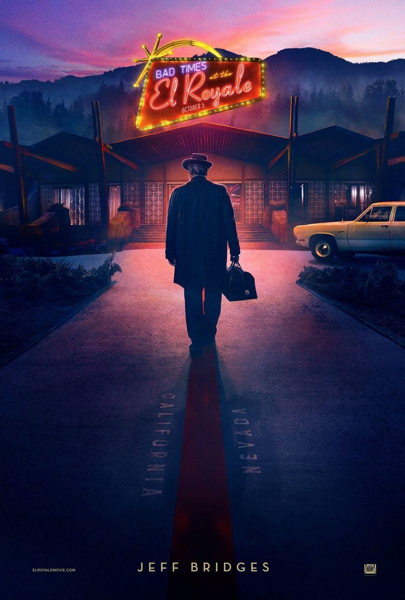 cronica de film Bad Times at the El Royale Jeff Bridges