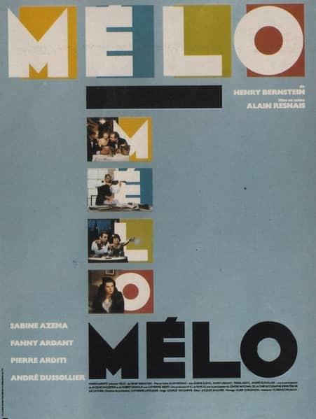 recenzie film Melo, Resnais