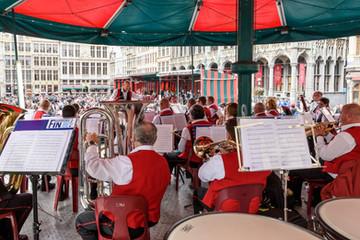 Concert de kiosque à Oostende