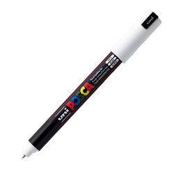 Белый маркер Posca