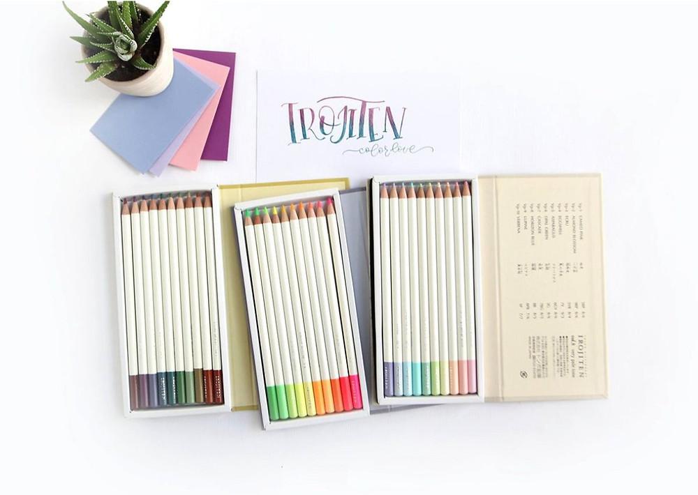 цветные карандаши tombow irojiten