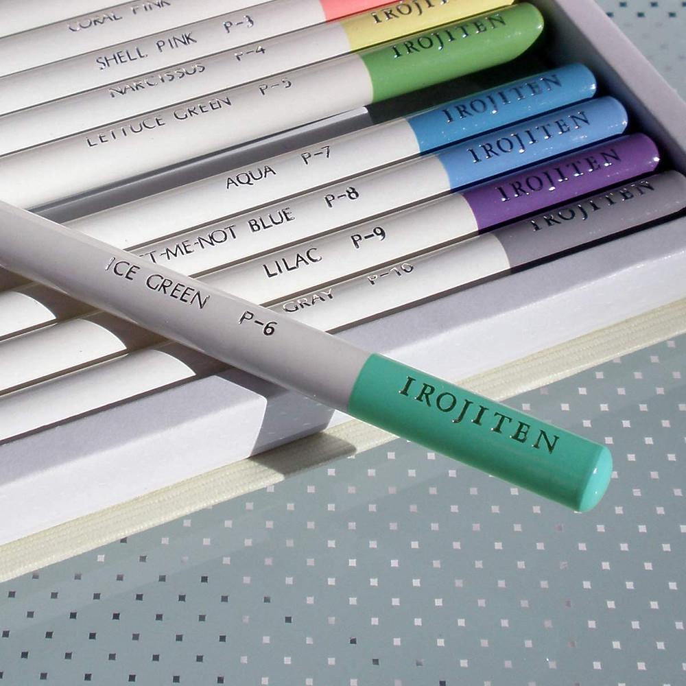 цветные карандаши tombow irojiten маркировка