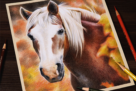 Осенняя лошадка