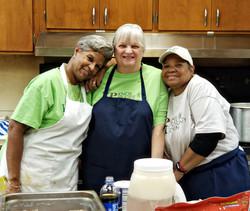 Odette, Myrna, and Joyce