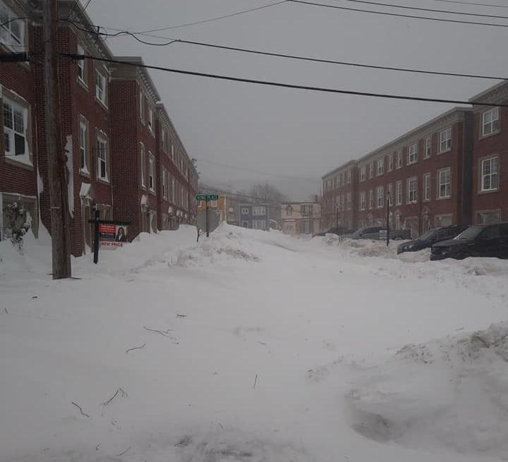 Photo: Katie Elizabeth Gosse St. Josephs Lane, St John's.