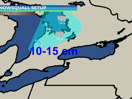 Snowsqualls Expected Across Lake Huron and Georgian Bay #ONwx