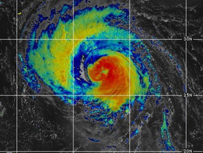 Larry could slam Newfoundland as a category one hurricane