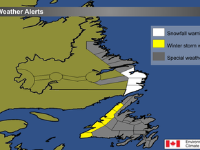 Mix of Winter Weather Expected Across the Province #nlwx