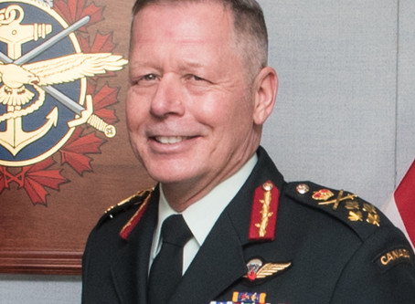 Chief of Defence Staff General Jonathan Vance Retiring