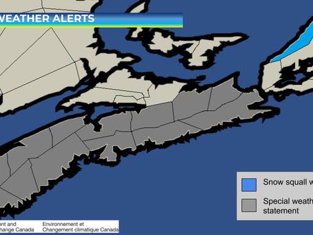 Snowstorm Possible for Nova Scotia