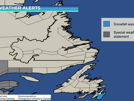 Heavy Snow Expected for Eastern Avalon #nlwx