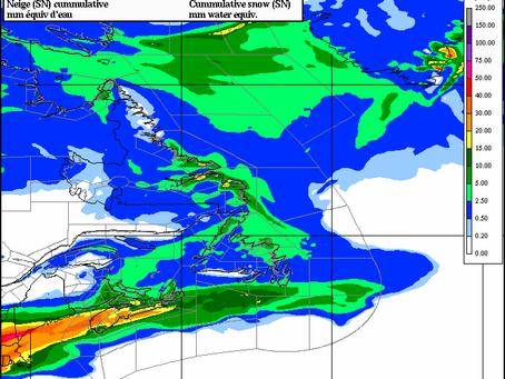 Heavy Snow Expected for Portions of Nova Scotia