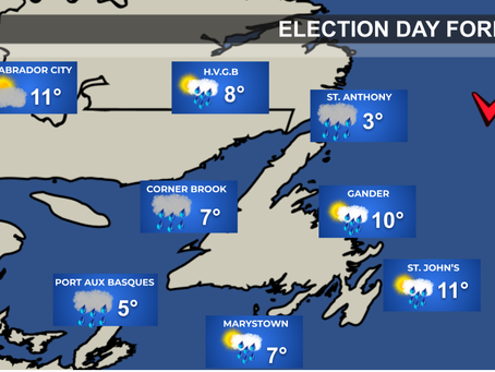 NL Election Day Weather