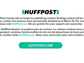 HuffPost Canada Shuts Down