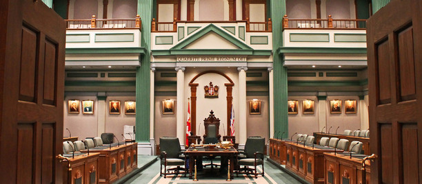 Speech from the Throne delivered #nlpoli