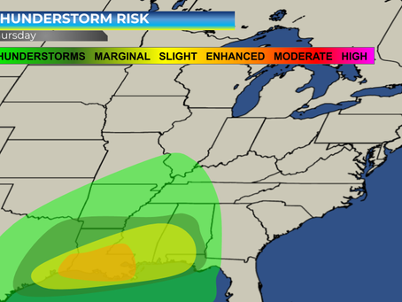 Severe Weather Expected from Texas to  Gulf Coast States