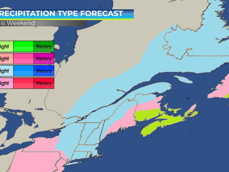 Heavy Snow and Rain Expected for Eastern Half of Canada