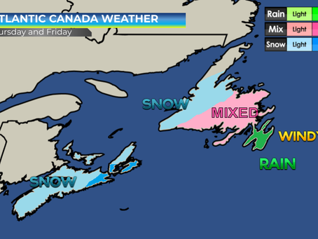 Significant weather set to impact Nova Scotia and Newfoundland
