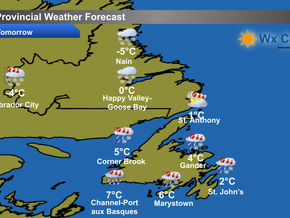 Stormy Monday in Store for the Province #nlwx