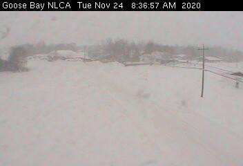 Winter Storm Pummels Labrador and Brings Strong Wind to Newfoundland
