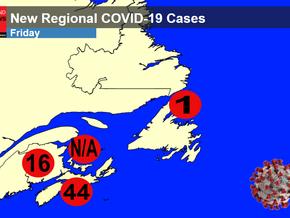 COVID-19 Cases Spike in Nova Scotia and New Brunswick