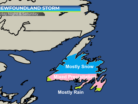 Significant storm system to push across Newfoundland #NLwx