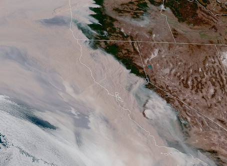 Poor Air Quality in BC from US Fires