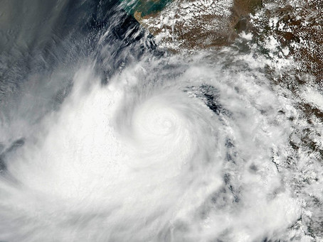 Tropical Cyclone Vayu Expected to Hit India