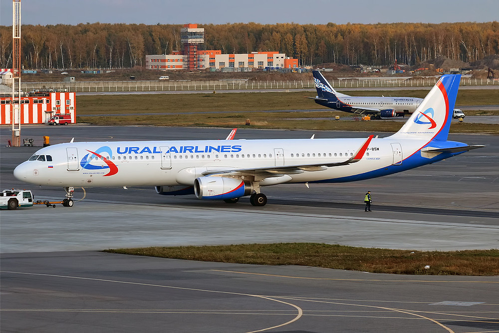 By Anna Zvereva from Tallinn, Estonia - Ural Airlines, VP-BSW, Airbus A321-231, CC BY-SA 2.0, https://commons.wikimedia.org/w/index.php?curid=63362215