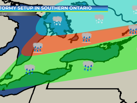 Potential Storm in Southern Ontario on Friday #ONstorm