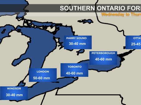 Flooding Rain Expected in Ontario
