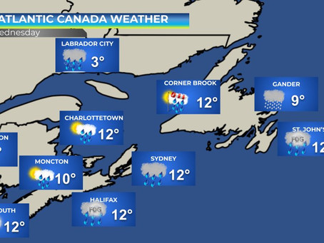 Stormy Weather Continues in Atlantic Canada